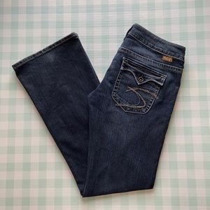 Silver Pioneer bootcut jeans size 28